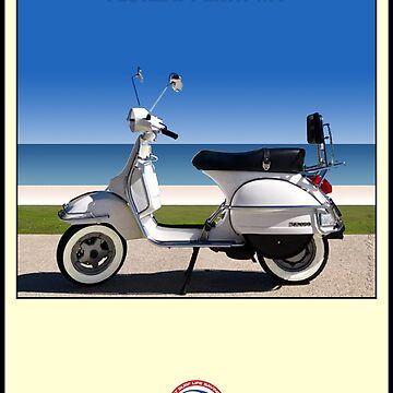 Scooter Poster Surf Scooter Society by stevenhouse