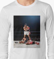 Muhammad ali poster Long Sleeve T-Shirt