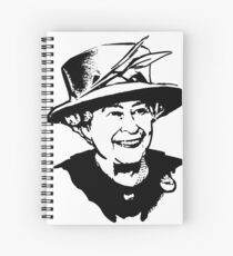 Elizabeth II  Spiral Notebook