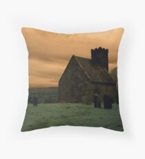 Upleatham Church Throw Pillow