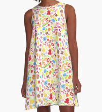 Mixed Lollies A-Line Dress