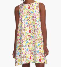 Mixed Lollies A-Line Dress