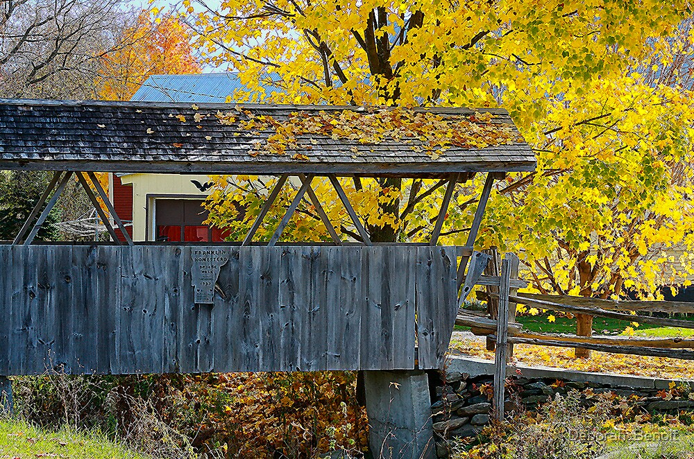 Homestead Bridge by Deborah  Benoit