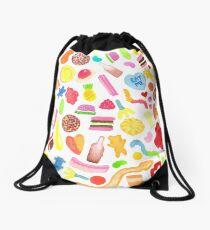 Mixed Lollies Drawstring Bag