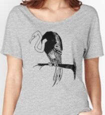 Crooked Women's Relaxed Fit T-Shirt