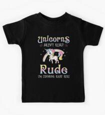 Einhörner sind echt Kinder T-Shirt