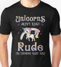 Einhörner sind echt Unisex T-Shirt