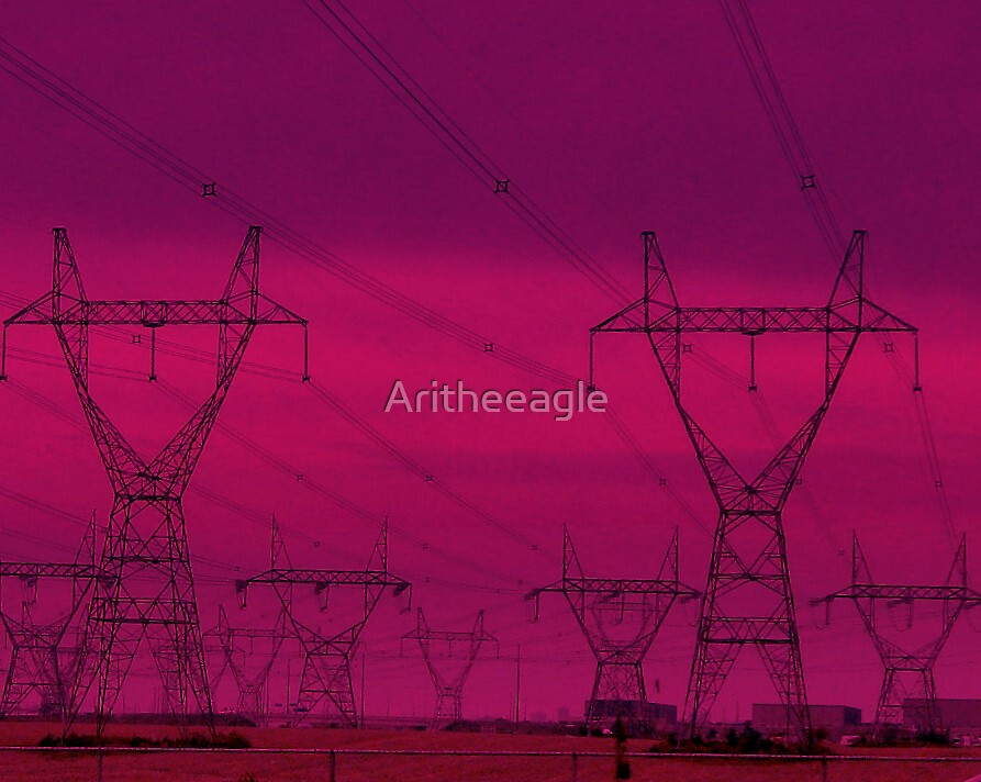 Ari's PHOTOART: POWER LINE ELECTROMAGNETIC FEILDS ?? by Aritheeagle