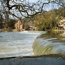 Waterfall – Klen River by Anatoliy