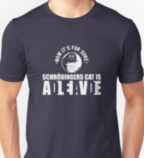 Schrodingers Cat Dead Alive Nerd Gift Slim Fit T-Shirt