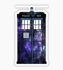 Doctor Who - TARDIS Galaxy Print Sticker