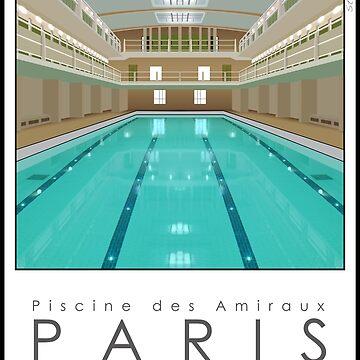 Lido Poster Amiraux by stevenhouse