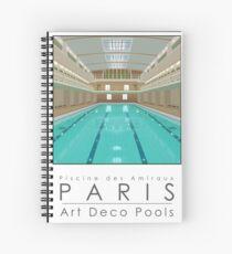 Lido Poster Amiraux Spiral Notebook