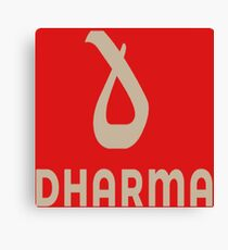 Dharma Records Canvas Print