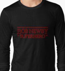 Stranger Things - Bob Newby Superhero Long Sleeve T-Shirt
