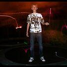 Glowstick Exposure Shot II by Melissa Contreras
