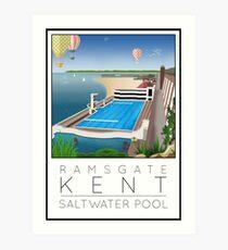 Lido Poster Ramsgate Art Print