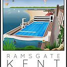 Lido Poster Ramsgate by Steven House