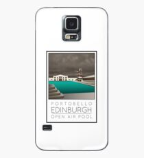 Lido Poster Edinburgh Portobello Case/Skin for Samsung Galaxy