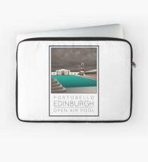 Lido Poster Edinburgh Portobello Laptop Sleeve