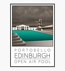 Lido Poster Edinburgh Portobello Photographic Print