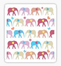 elephant 2 Sticker
