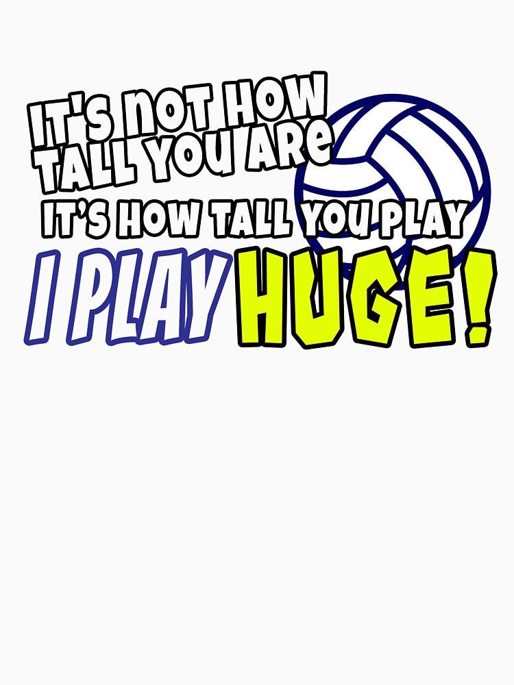 Funny Volleyball Sayings | Volleyball Player by rainydaysstudio