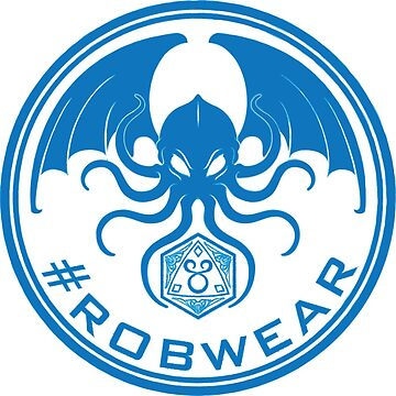 #RobWear Blue Stamp by RobertVaughan