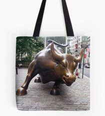 The Wall Street Bull, Manhattan, New York Tote Bag