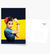 Rupauls Drag Race - Saison 6 - Bianca del Rio Postkarten