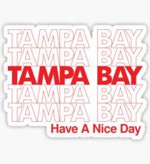 tampa bay Sticker