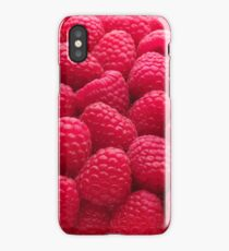 Raspberry Red iPhone Case