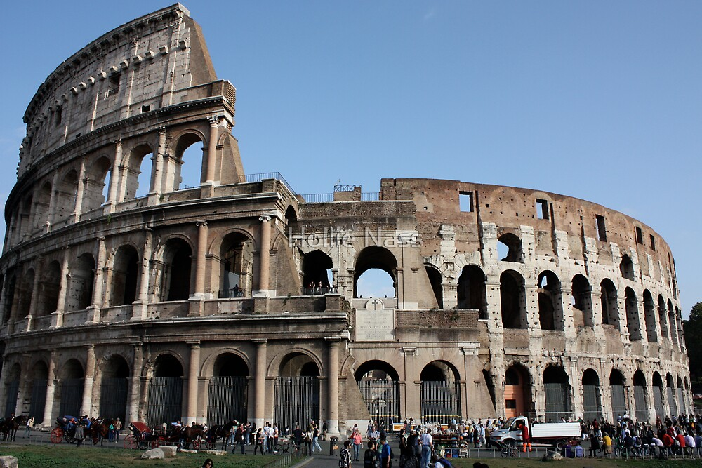 Colosseum by Hollie Nass