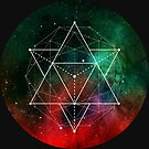 STAR TETRAHEDRON - INTERSTELLAR SPACE-GEOMETRIC SHAPES, FOR SMART, INTELLECTUAL PEOPLE LIKE YOUR GOOD SELF by Clifford Hayes