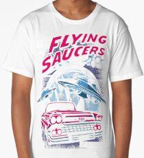 Flying Saucers  Long T-Shirt