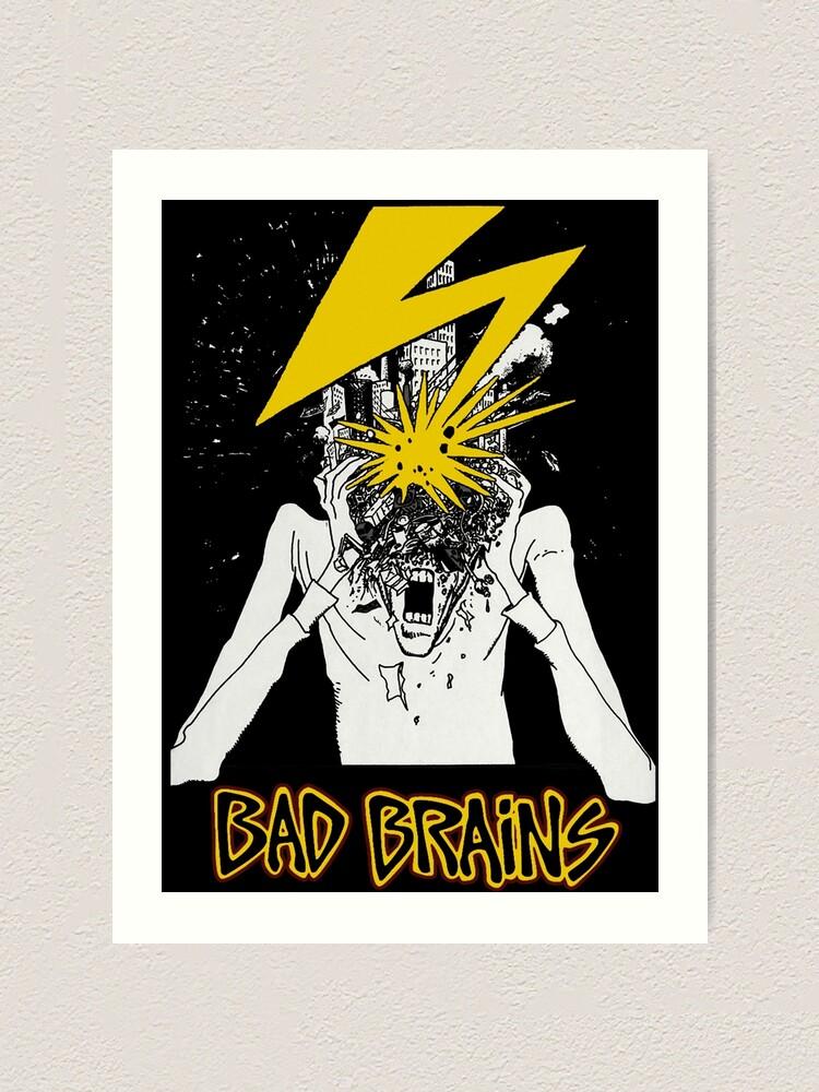 Alternate view of Bad Brains Art Print