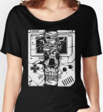Gameboy Skull  Women's Relaxed Fit T-Shirt