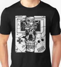 Gameboy Skull  T-Shirt