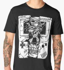 Gameboy Skull  Men's Premium T-Shirt