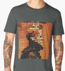 DAVID BOWIE - LOW - DOTS Men's Premium T-Shirt