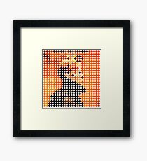 DAVID BOWIE - LOW - DOTS Framed Print