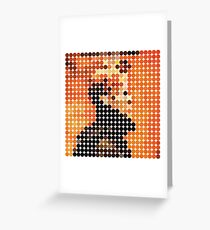 DAVID BOWIE - LOW - DOTS Greeting Card