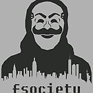 Mr. Robot - Fsociety - Mask by alcateiaart