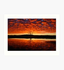 Armidale Sunrise Art Print
