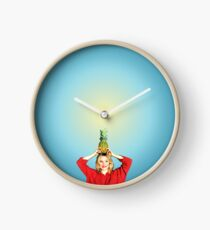Want to Split a Pineapple?  Clock