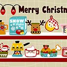 Christmas Kitchen English Card by Sonia Pascual