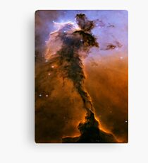 Yellow Galaxy Canvas Print