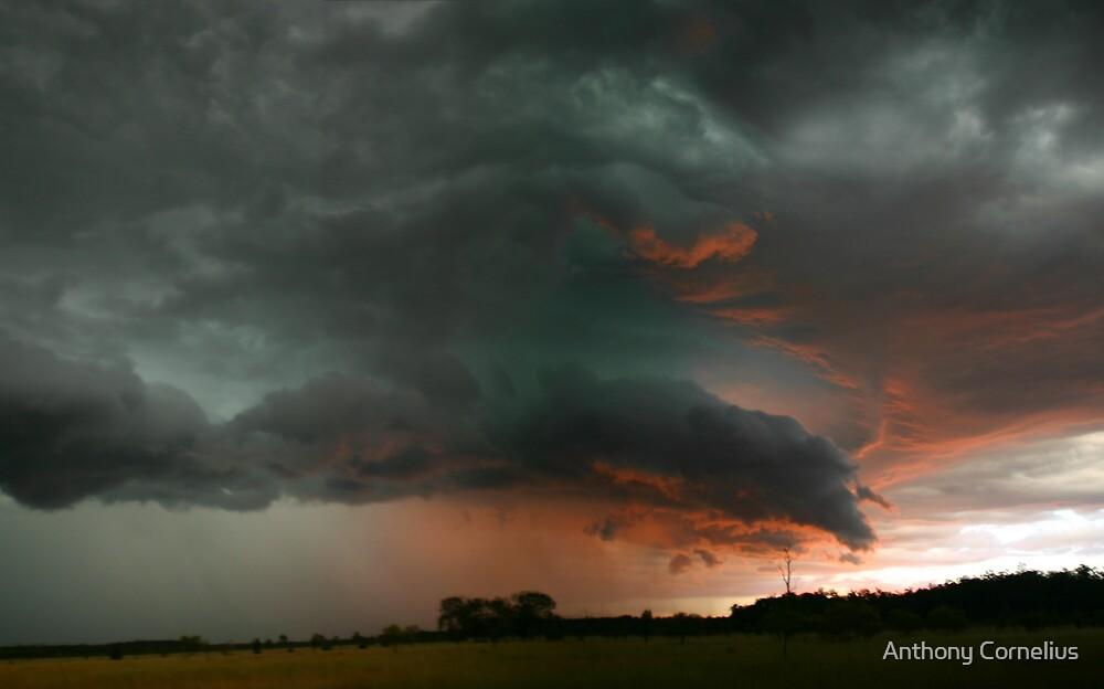 Sunset Storm by Anthony Cornelius