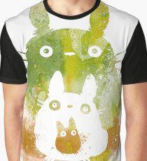 friki diseño totoro Graphic T-Shirt