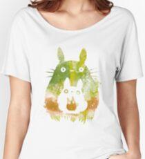 friki diseño totoro Women's Relaxed Fit T-Shirt